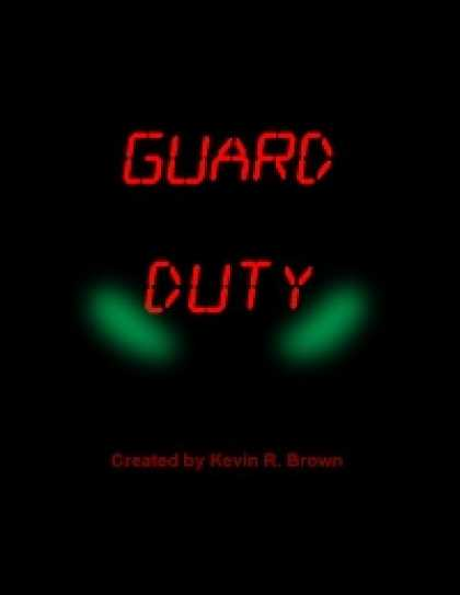 Role Playing Games - Guard Duty