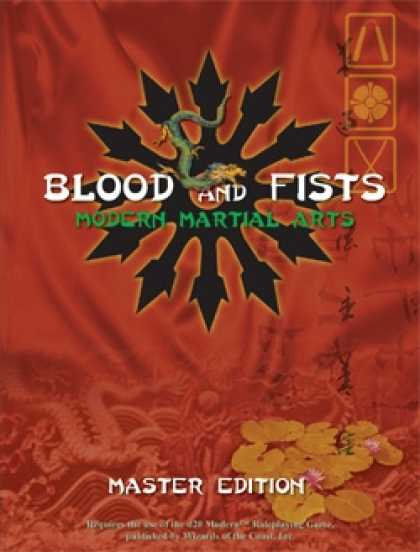 Role Playing Games - Blood and Fists: Master Edition