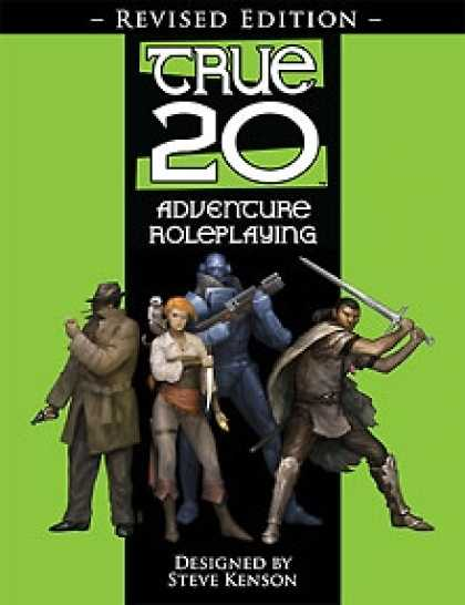 Role Playing Games - True20 Adventure Roleplaying, Revised Edition