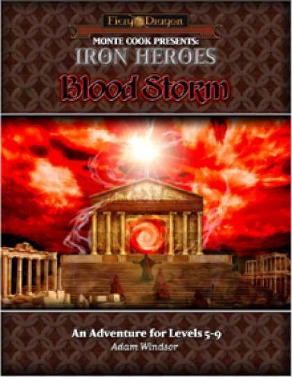 Role Playing Games - Iron Heroes: Blood Storm