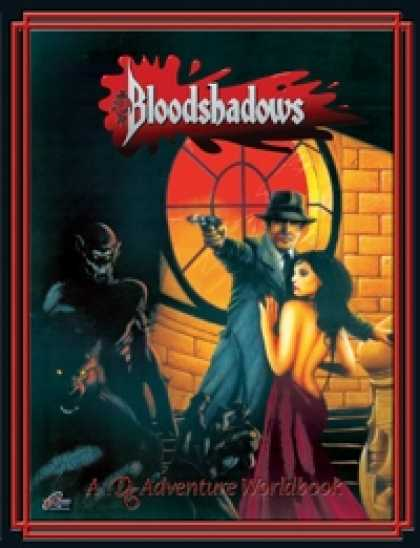 Role Playing Games - Bloodshadows: A Worldbook for the D6 System