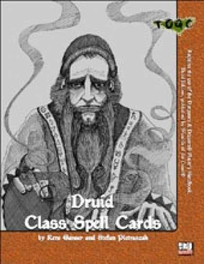 Role Playing Games - Class Spell Cards III: Druid