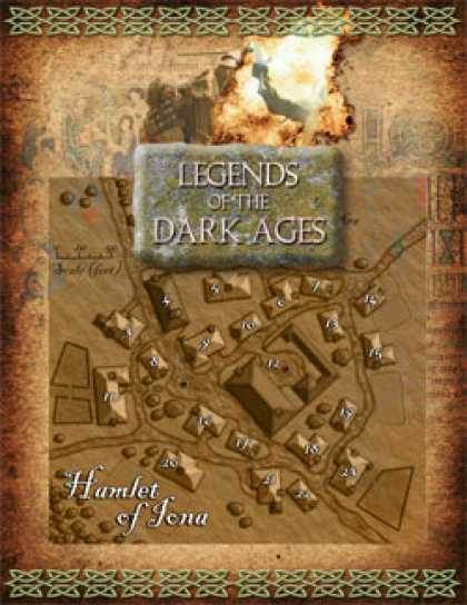 Role Playing Games - Legends of the Dark Ages: Hamlet of Iona