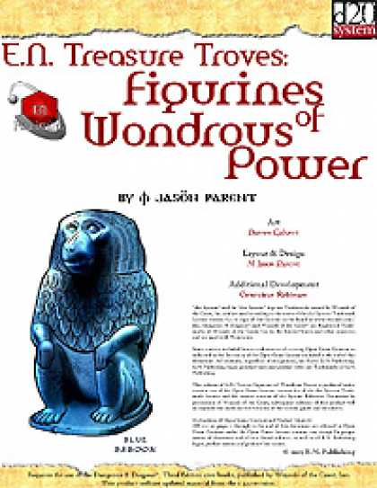 Role Playing Games - E.N. Treasure Troves: Figurines of Wondrous Power (Deluxe)