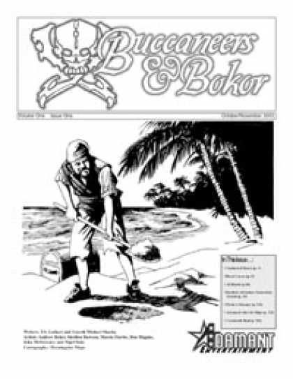 Role Playing Games - Buccaneers & Bokor, Issue One