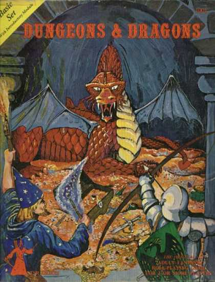 Role Playing Games - Dungeons & Dragons Basic Set
