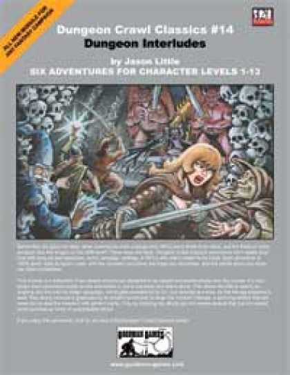 Role Playing Games - Dungeon Crawl Classics #14: Dungeon Interludes