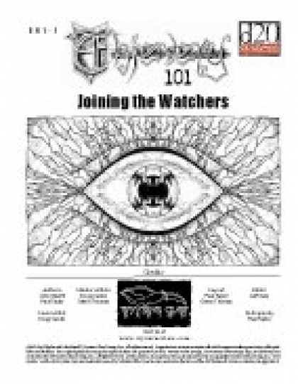 Role Playing Games - Thievery 101: Joining the Watchers
