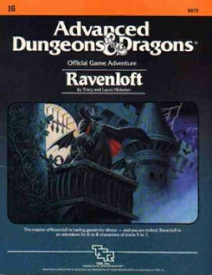 Role Playing Games - Ravenloft (1st Ed.)