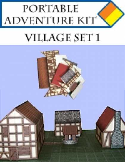 Role Playing Games - Portable Adventure Kit - Village Set 1