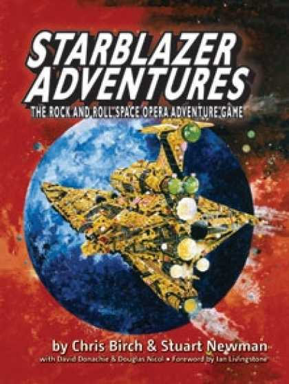 Role Playing Games - Starblazer Adventures FREE 40 PAGE Preview