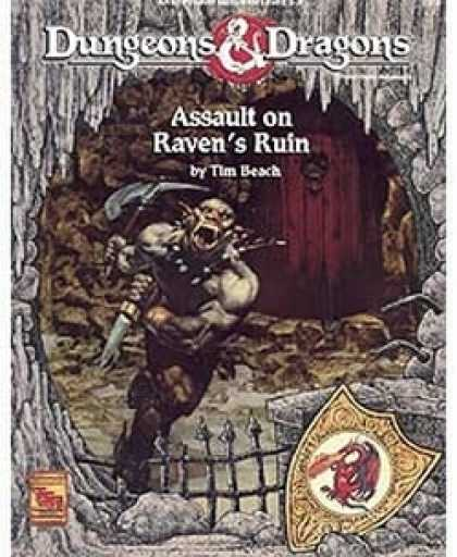 Role Playing Games - Assault on Raven's Ruin