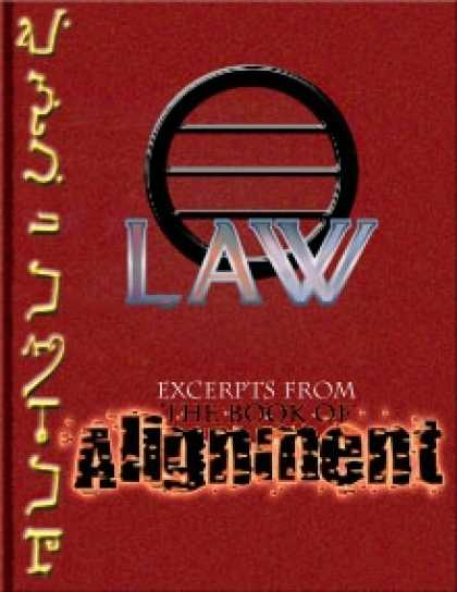 Role Playing Games - The Book of Alignment: Law