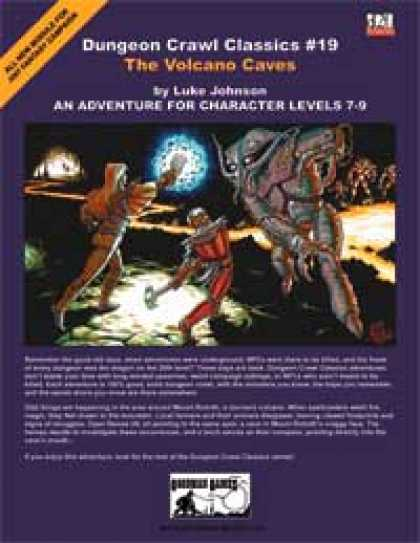 Role Playing Games - Dungeon Crawl Classics #19: The Volcano Caves