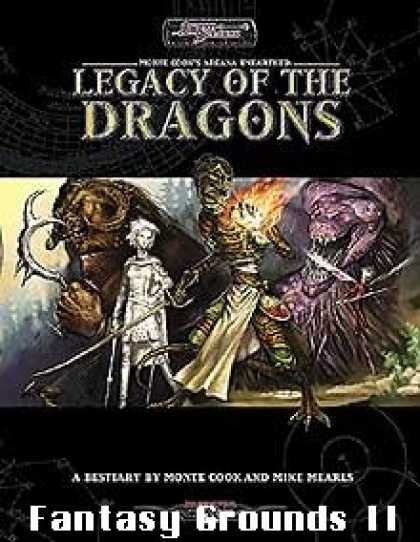 Role Playing Games - Legacy of the Dragons for Fantasy Grounds II