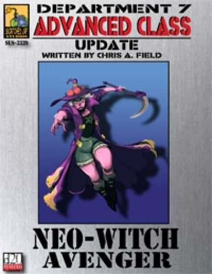 Role Playing Games - Dept. 7 Adv. Class Update: Neo-Witch Avenger