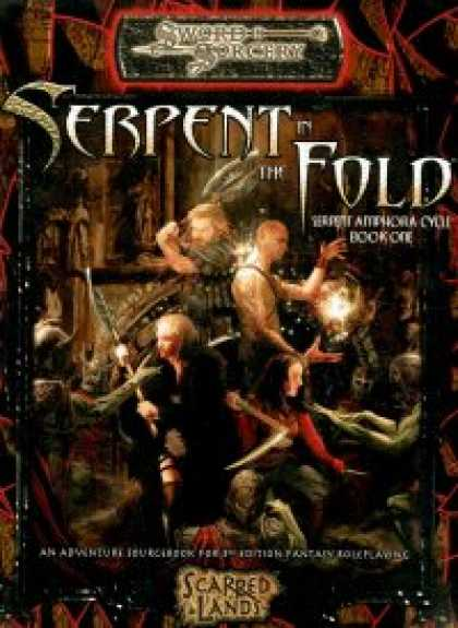 Role Playing Games - Serpent in the Fold - Serpent Amphora Cycle Book One