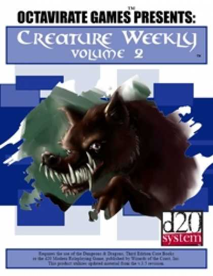 Role Playing Games - Creature Weekly Volume 2