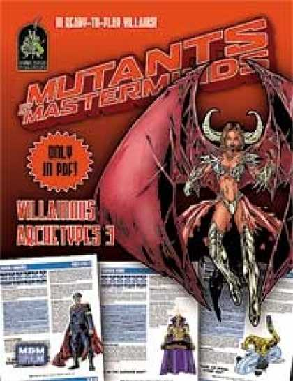 Role Playing Games - Mutants & Masterminds Villainous Archetypes 3