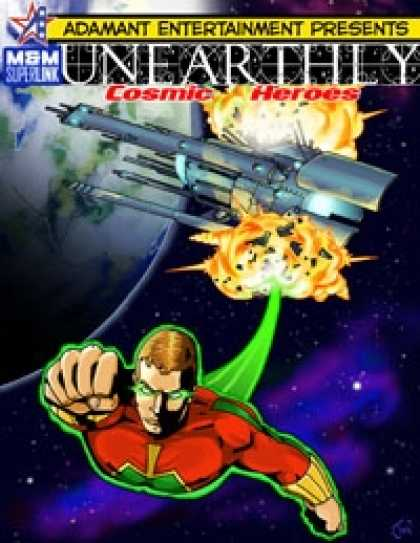 Role Playing Games - UNEARTHLY: Cosmic Heroes
