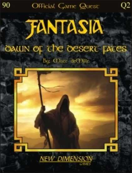 Role Playing Games - Fantasia: Dawn Of The Desert Fates--Quest Q2