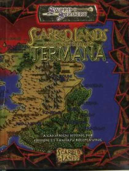 Role Playing Games - Scarred Lands Campaign Setting: Termana