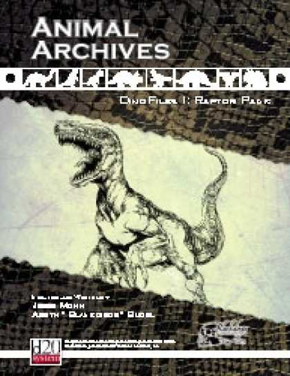 Role Playing Games - Animal Archives: DinoFiles I - Raptor Pack