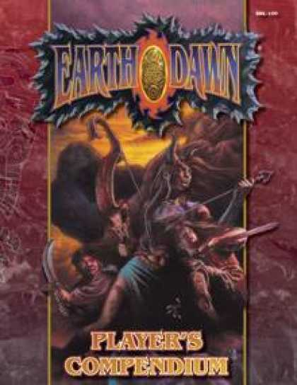 Role Playing Games - Earthdawn Player's Compendium