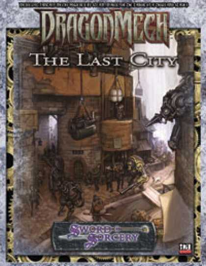 Role Playing Games - DragonMech: The Last City
