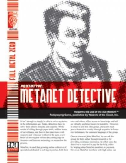 Role Playing Games - Prototype: MetaNet Detective