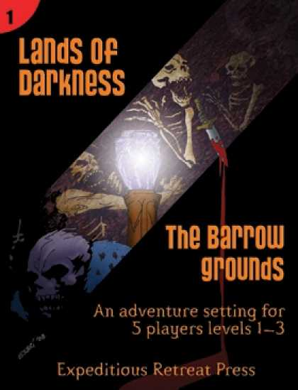 Role Playing Games - Lands of Darkness #1: The Barrow Grounds