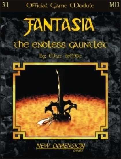 Role Playing Games - Fantasia: The Endless Gauntlet--Module M13