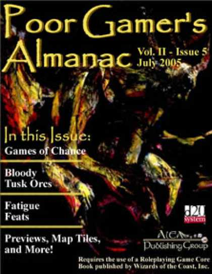 Role Playing Games - Poor Gamer's Almanac (July 2005)