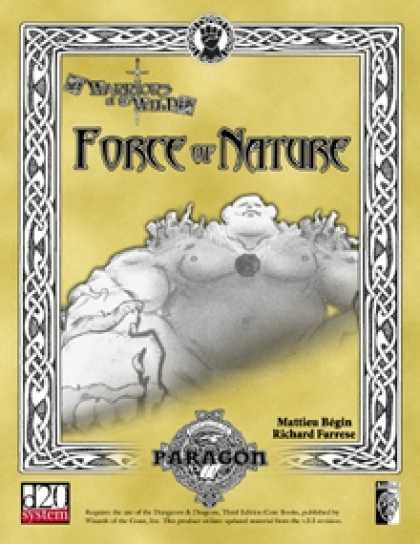 Role Playing Games - Force of Nature