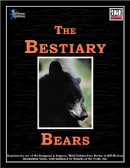 Role Playing Games - The Bestiary: Bears