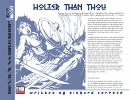 Role Playing Games - Holier than Thou
