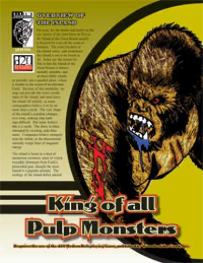 Role Playing Games - King of All Pulp Monsters