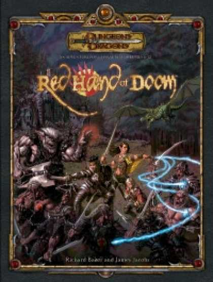 Role Playing Games - Red Hand of Doom