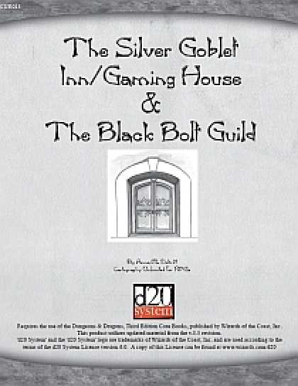 Role Playing Games - The Silver Goblet Inn/Gaming House & Black Bolt Guild