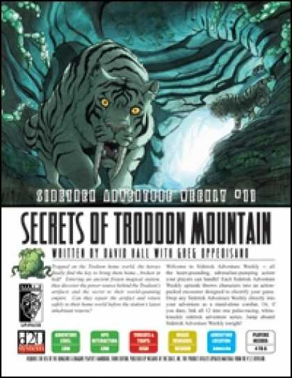 Role Playing Games - Sidetrek Adventure Weekly #11: Secrets of Trodoon Mountain