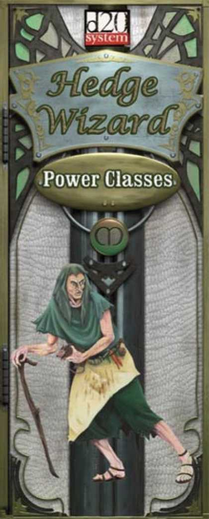Role Playing Games - Power Class Hedge Wizard