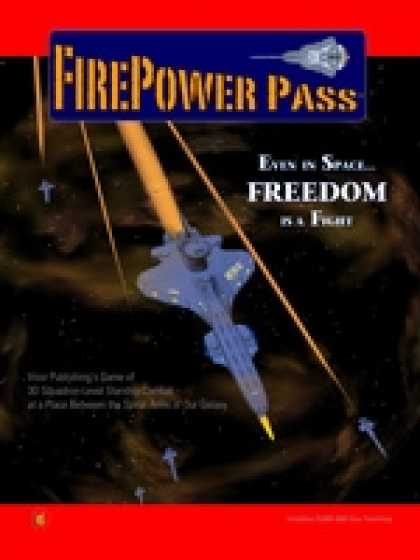 Role Playing Games - FIREPOWER PASS Space Combat Rules