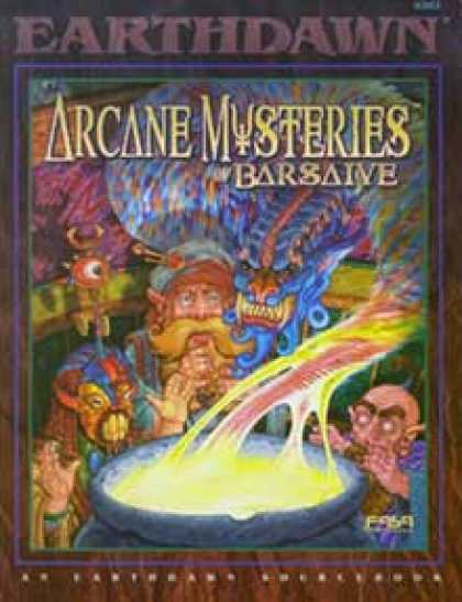 Role Playing Games - Arcane Mysteries of Barsaive