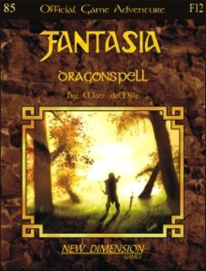 Role Playing Games - Fantasia: Dragonspell--Adventure F12