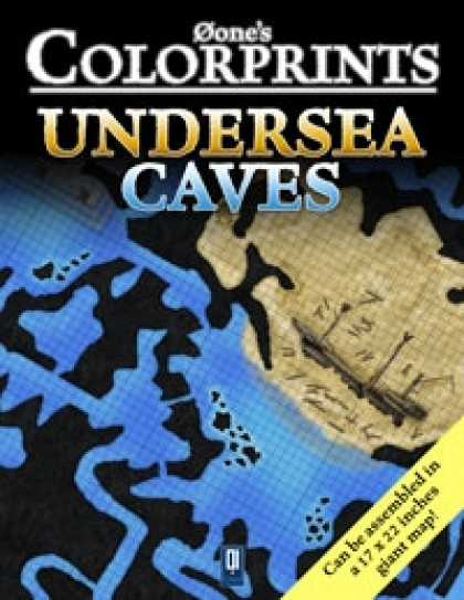 Role Playing Games - 0one's Colorprints #6: Undersea Caves