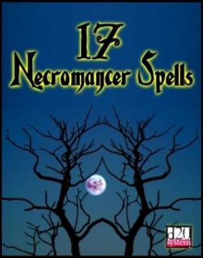 Role Playing Games - 17 Necromancer Spells