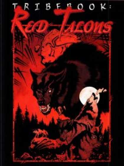 Role Playing Games - Tribebook: Red Talons (Revised)