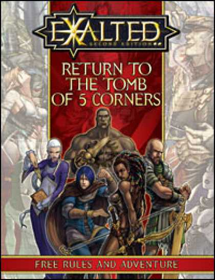 Role Playing Games - Return to the Tomb of 5 Corners