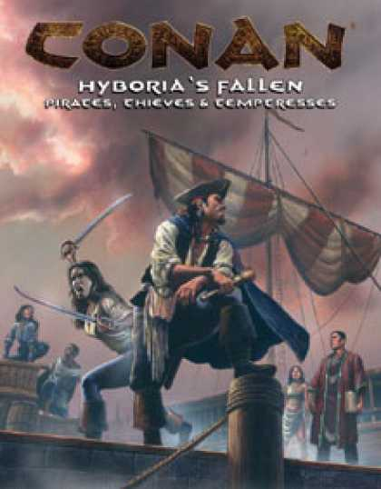 Role Playing Games - Hyboria's Fallen Pirates, Thieves and Temptresses