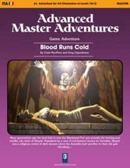 Role Playing Games - Blood Runs Cold (OSRIC)